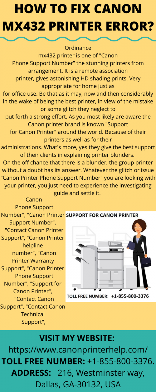 HOW TO FIX CANON MX432 PRINTER ERROR