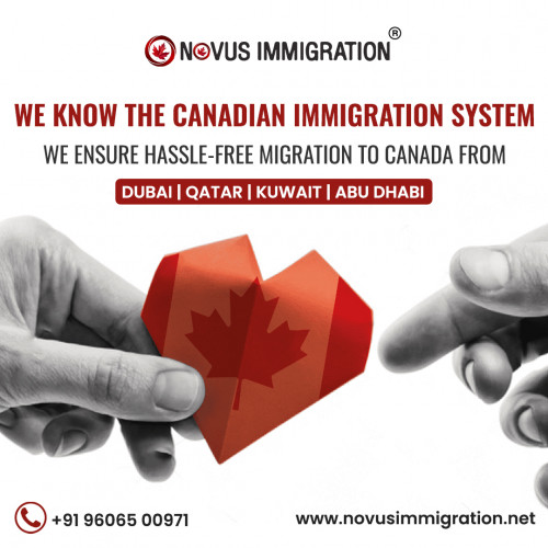 Novus Immigration is Certified multinational education and best Canada Immigration Consultants in Dubai, dedicated to offering the quickest and high success rated Canada Immigration process through one of the Express Entry Program.   Visit Our Website: https://novusimmigration.net
