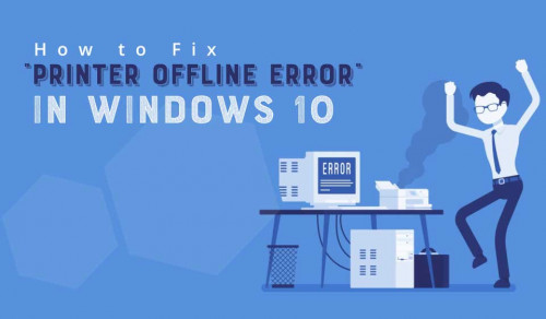 If you are one of those people who are experiencing Windows 10 printer offline problem and do not know how to fix the printer offline problem in your Windows 10 then do not worry. As per the experts, a sure shot way to fix the printer offline error in Windows 10 is by making some necessary changes in the printer properties.  https://www.myquery.co.uk/printer-offline-error/